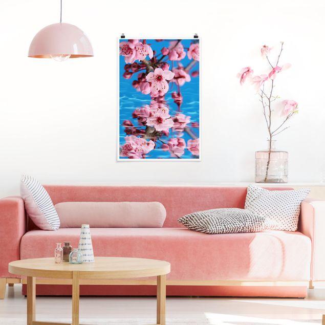 Poster - fiore di ciliegio - Verticale 3:2