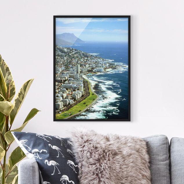 Poster con cornice - Cape Town - Verticale 4:3
