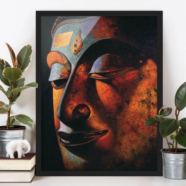 Poster con cornice - Bombay Buddha - Verticale 4:3
