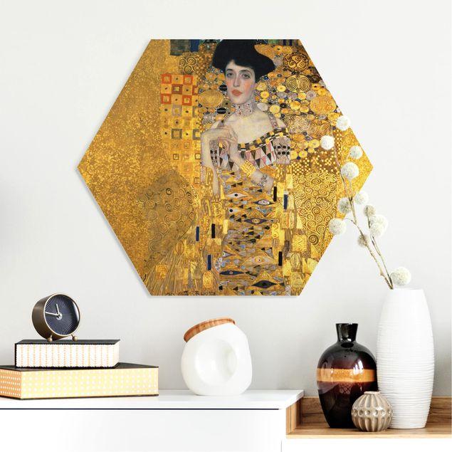 Esagono in forex - Gustav Klimt - Ritratto di Adele Bloch-Bauer I