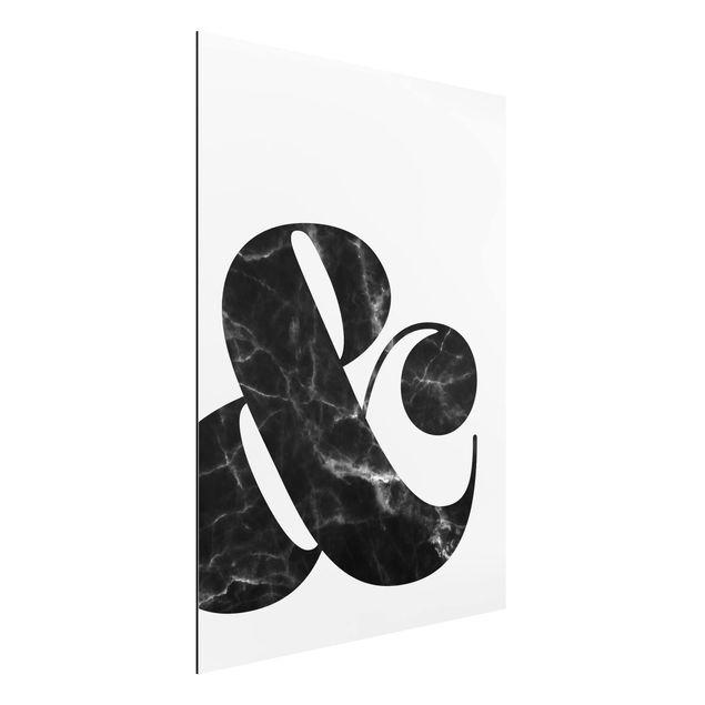 Quadro in alluminio - Ampersand Marble