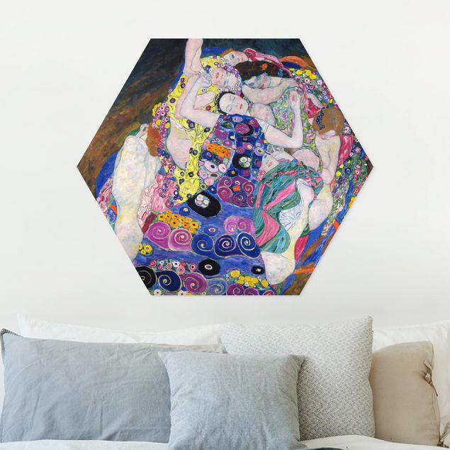 Esagono in forex - Gustav Klimt - La Vergine
