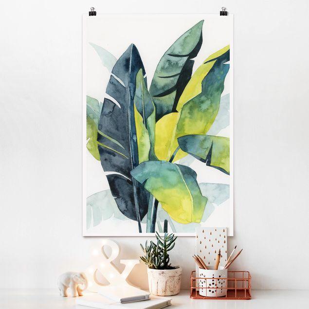 Poster - Vegetazione tropicale - Banana - Verticale 3:2