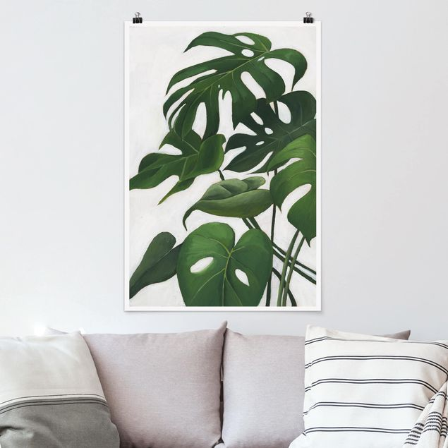 Poster - Piante preferite - Monstera - Verticale 3:2