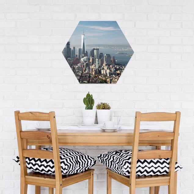 Esagono in forex - Vista da Empire State Building