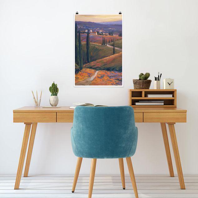 Poster - Paesaggio Nel pomeriggio ho - Verticale 3:2