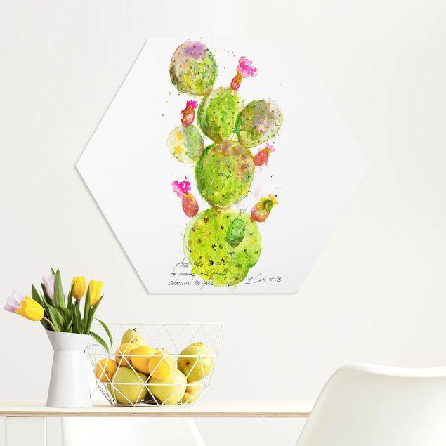 Esagono in forex - Cactus Con Versetti della Bibbia III