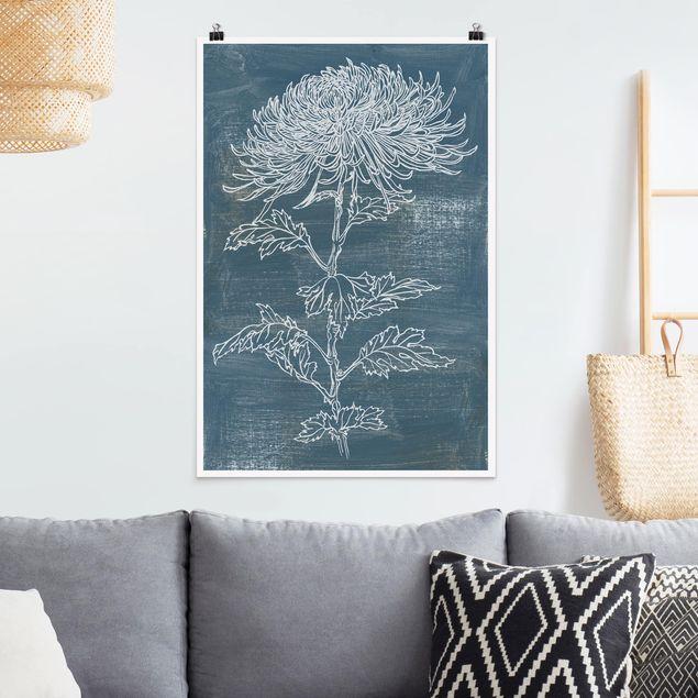 Poster - Indigo Plant II - Verticale 3:2