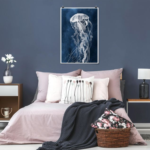 Poster - Jellyfish Danza II - Verticale 3:2