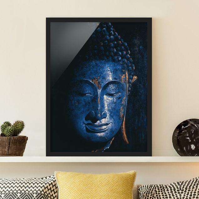 Poster con cornice - Delhi Buddha - Verticale 4:3
