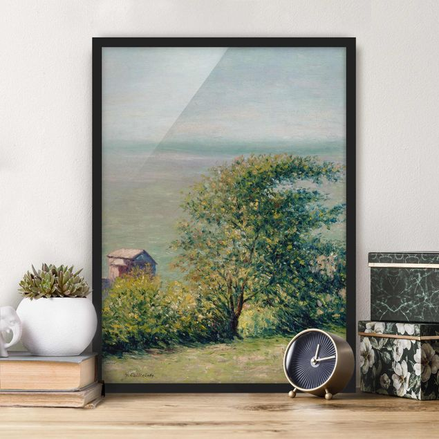 Poster con cornice - Gustave Caillebotte - The Sea At Villerville - Verticale 4:3