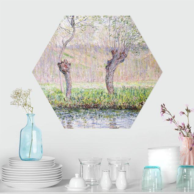 Esagono in forex - Claude Monet - Primavera Willows