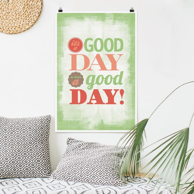 Poster - No.EV21 A Good Day - Verticale 3:2