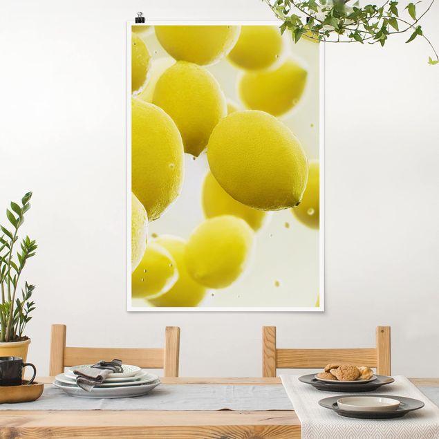 Poster - Limone in acqua - Verticale 3:2