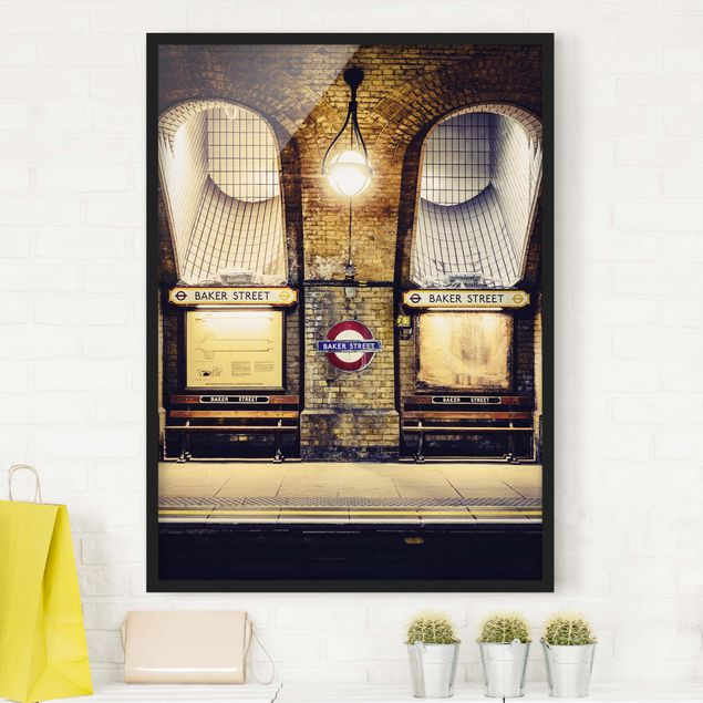 Poster con cornice - Baker Street - Verticale 4:3