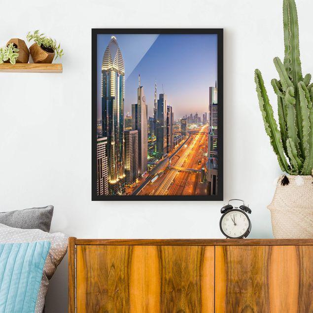 Poster con cornice - Dubai - Verticale 4:3