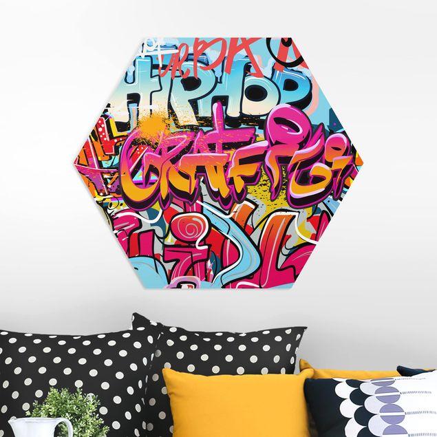 Esagono in forex - Hip Hop dei graffiti