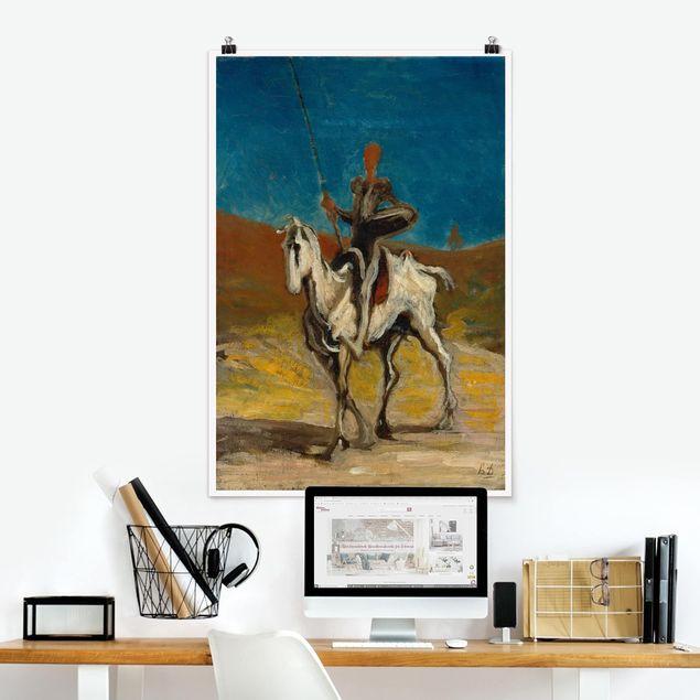 Poster - Honoré Daumier - Don Chisciotte - Verticale 3:2