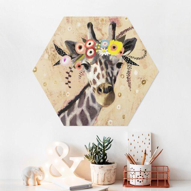 Esagono in forex - Klimt Giraffe