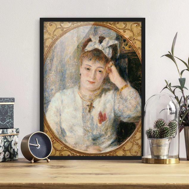 Poster con cornice - Auguste Renoir - Portrait Of Marie Murer - Verticale 4:3