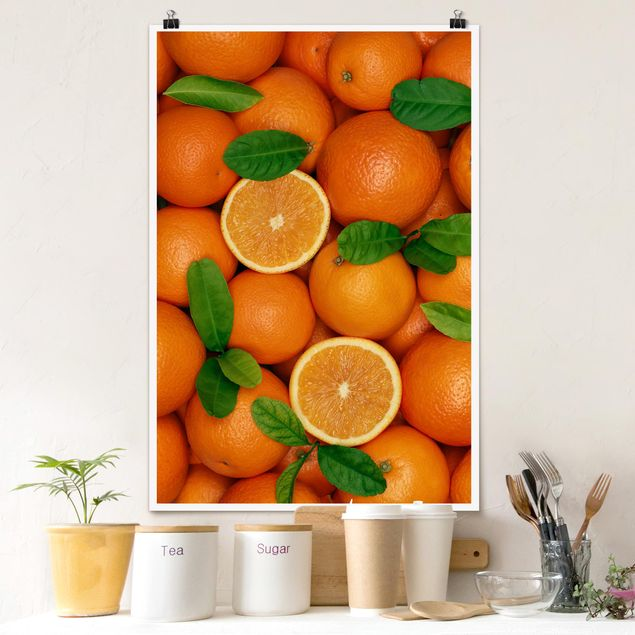 Poster - succose arance - Verticale 3:2