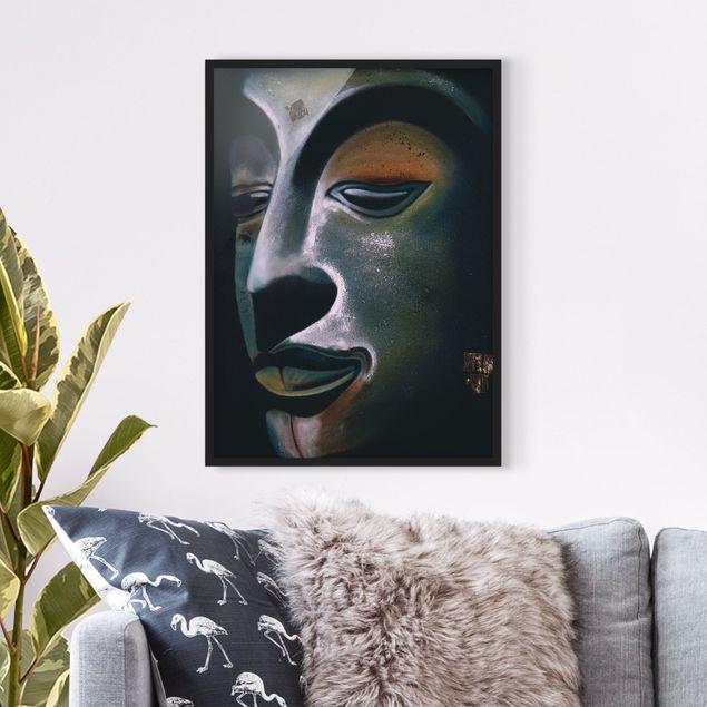 Poster con cornice - Assam Buddha - Verticale 4:3