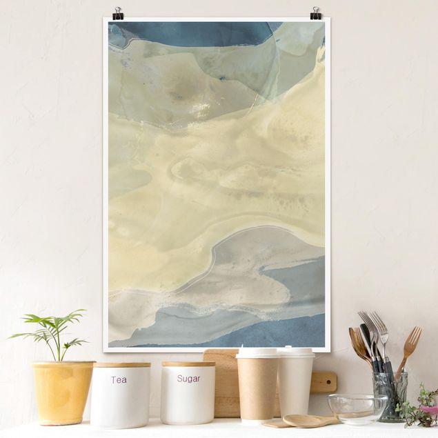Poster - Oceano e il deserto io - Verticale 3:2