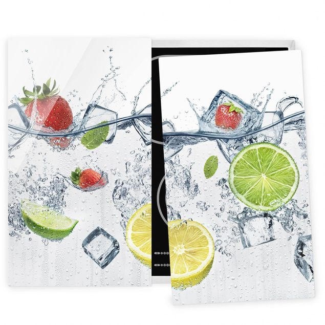 Coprifornelli in vetro - Fruit Cocktail