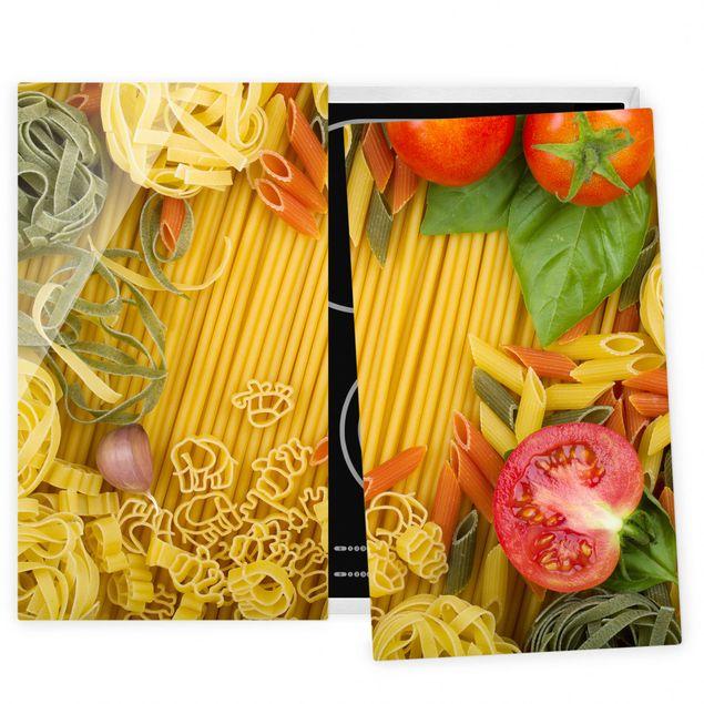 Coprifornelli in vetro - Pasta Variation