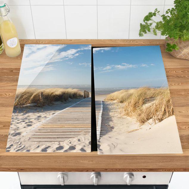 Coprifornelli in vetro - Baltic Sea Beach