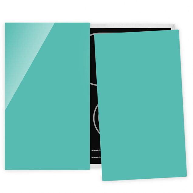 Coprifornelli in vetro - Turquoise