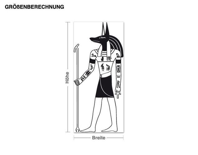 Adesivo murale - Anubis