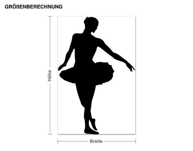 Adesivo murale - ballerino classico
