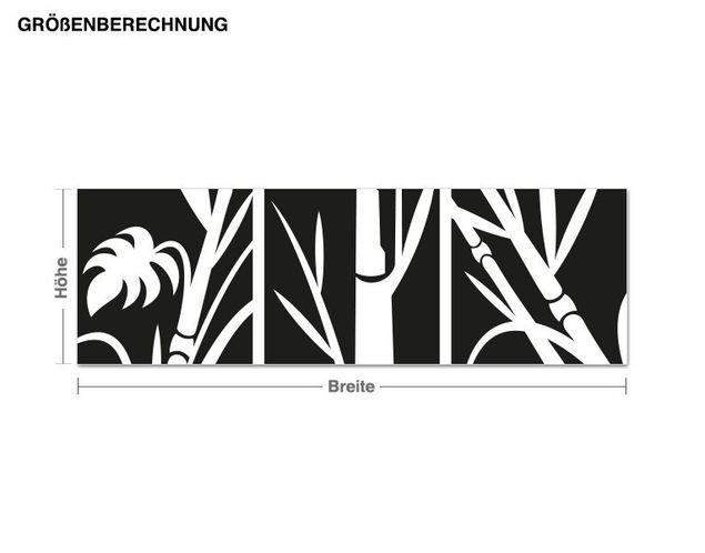 Adesivo murale - immagini di bambù