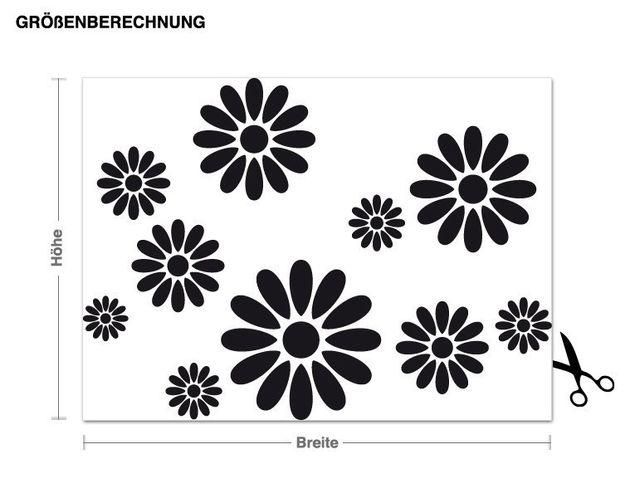 Adesivo murale - fiori
