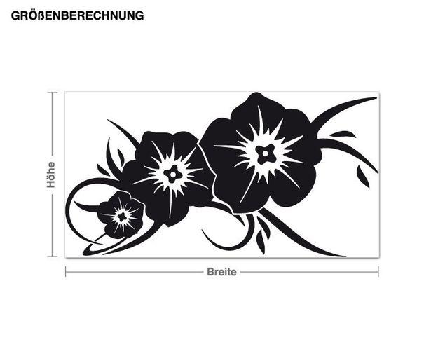 Adesivo murale - Blumengruß