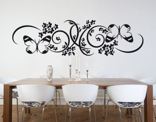 Adesivo murale - farfalla