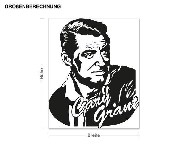 Adesivo murale - Cary Grant