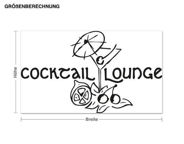 Adesivo murale - Cocktail Lounge