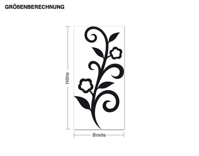 Adesivo murale - Flower design