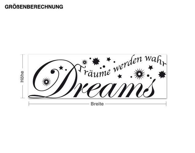 Adesivo murale - sogni