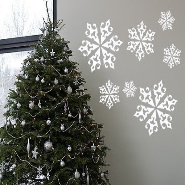 Adesivo murale - cristalli di ghiaccio