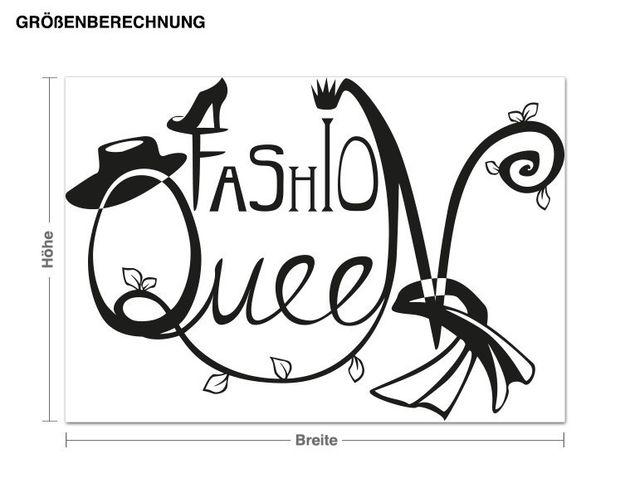 Adesivo murale - queen Fashion