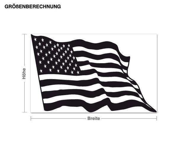 Adesivo murale - bandiera