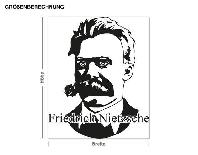 Adesivo murale - Friedrich Nietzsche