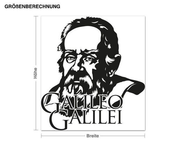 Adesivo murale - Galileo Galilei