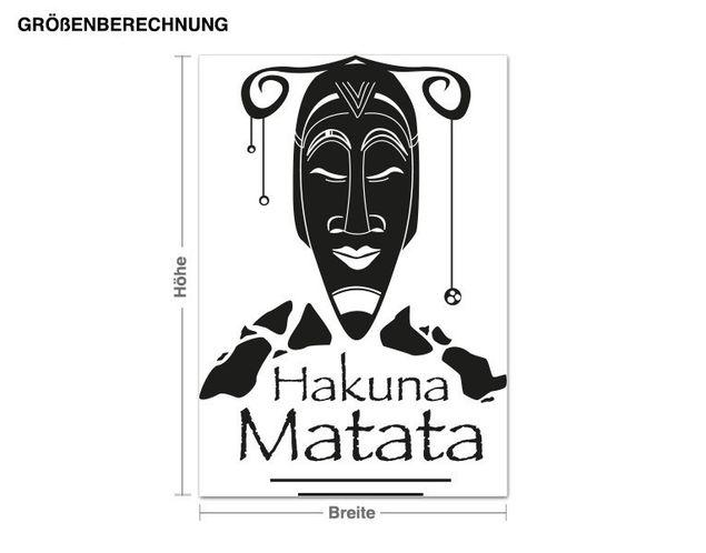 Adesivo murale - Hakuna Matata