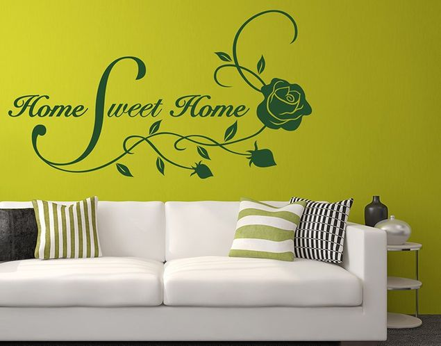 Adesivo murale - Home Sweet Home
