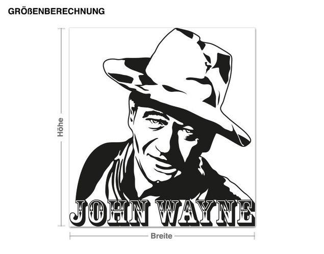 Adesivo murale - John Wayne