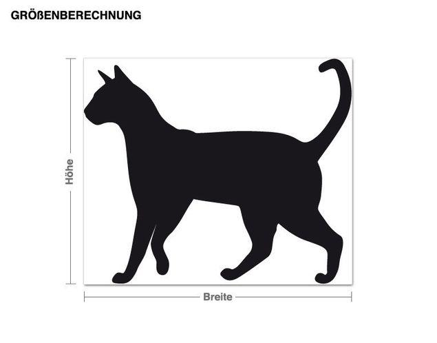 Adesivo murale - gatto